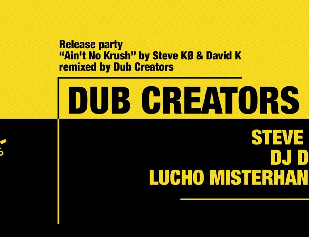 Dub Creators – 4elements – Release Party
