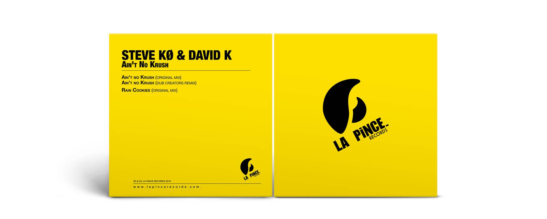 STEVE KO & DAVID K – Ain't No Krush – DIGITAL VERSION