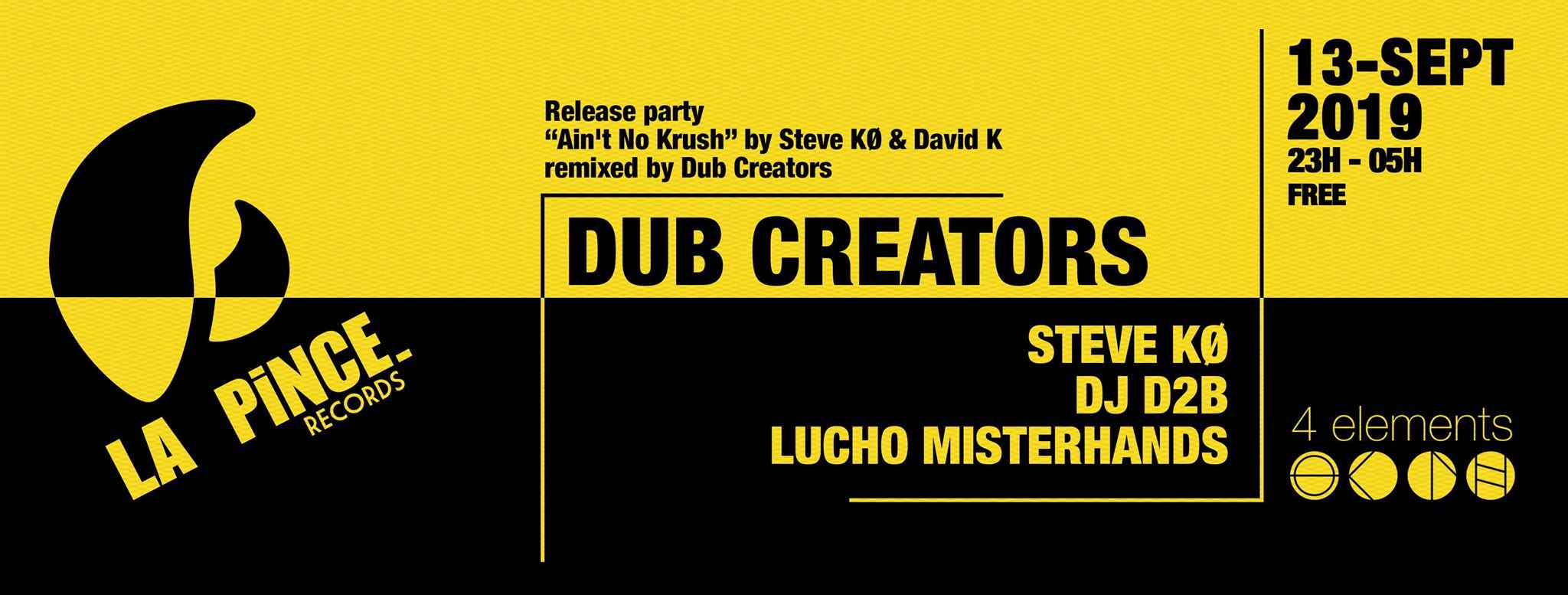 Dub Creators – 4elements – Release Party